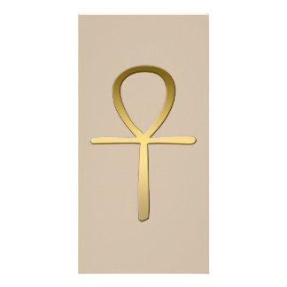 Ankh cross Egyptian symbol Card
