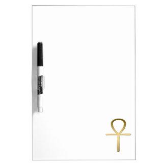 Ankh cross Egyptian symbol Dry Erase Board