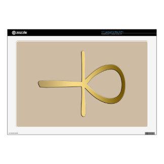 Ankh cross Egyptian symbol Laptop Decal