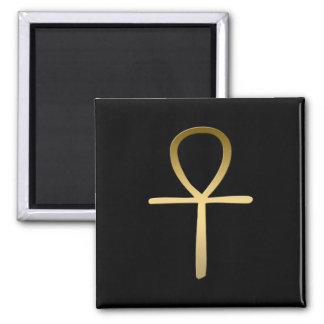 Ankh cross Egyptian symbol 2 Inch Square Magnet