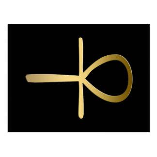 Ankh cross Egyptian symbol Postcard