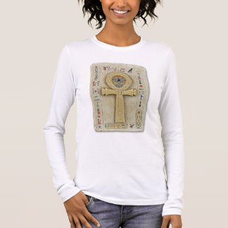 Ankh design long sleeve T-Shirt