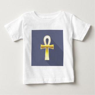 Ankh Egyptian Cross Golden Tee Shirt
