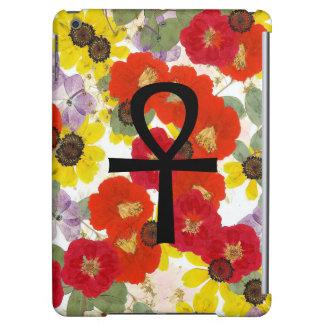 Ankh Flower iPad Case