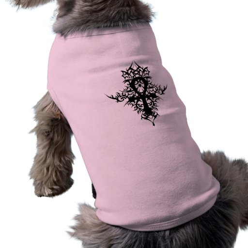 Ankh gótico camisa de mascota