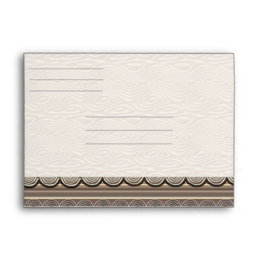 Ankh Greeting Card  Lined Envelopes