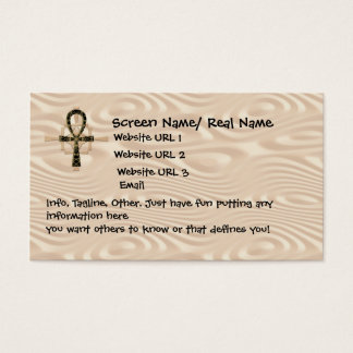 Ankh Intoduction Card