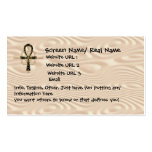 Ankh Intoduction Card Business Card Templates
