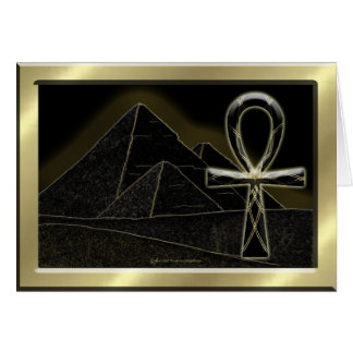 Ankh Lines Card