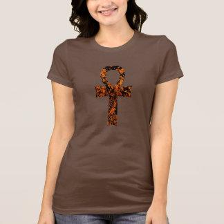 Ankh-Mottled T-Shirt