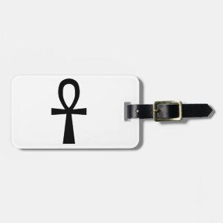 Ankh Symbol Bag Tag