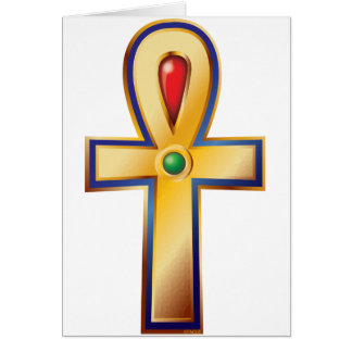 Ankh- The Ancient Egyptian Symbol of Life Card