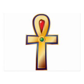 Ankh- The Ancient Egyptian Symbol of Life Postcard