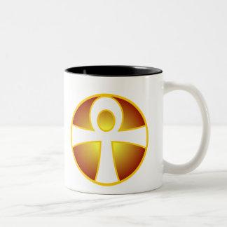 Ankh Two-Tone Coffee Mug