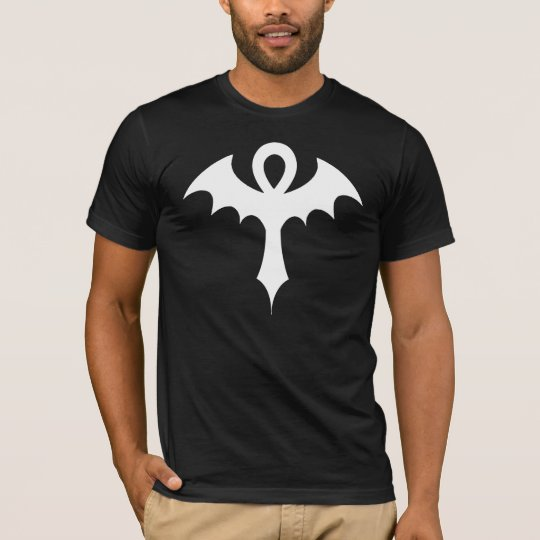 Ankh With Bat Wings T-Shirt
