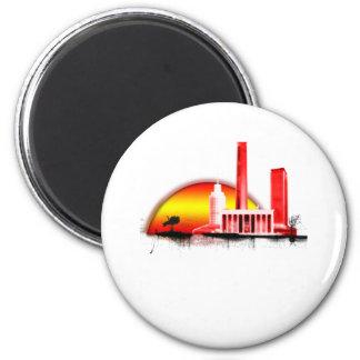 anki 2 inch round magnet