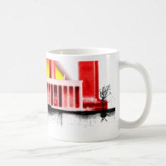 anki classic white coffee mug