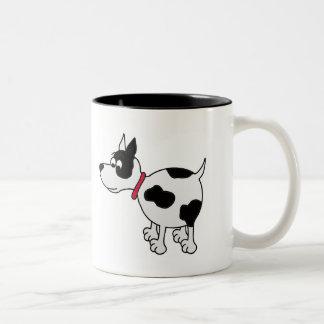 Ankle Biter Cartoon Dog Coffee Mug