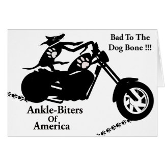 Ankle-Biters Of America Card