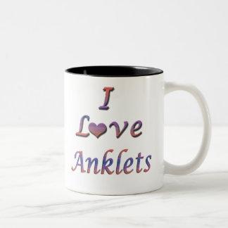 anklets Two-Tone coffee mug