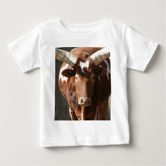 Ankole-Watusi Steer With Huge Horns Baby T-Shirt