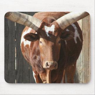 Ankole-Watusi Steer With Huge Horns Mousepad
