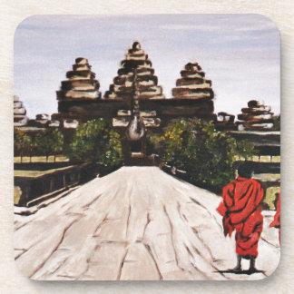 Ankor Wat Beverage Coaster