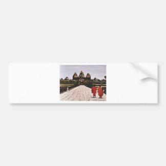 Ankor Wat Bumper Sticker