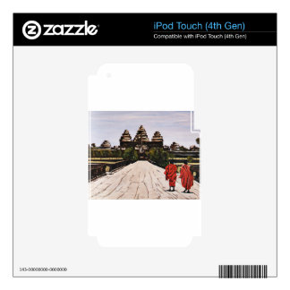 Ankor Wat Decal For iPod Touch 4G