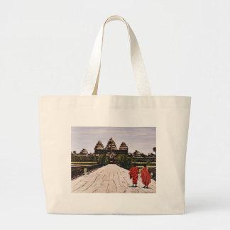 Ankor Wat Large Tote Bag