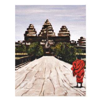 Ankor Wat Letterhead