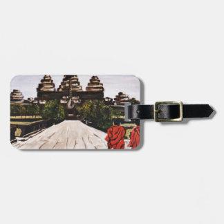 Ankor Wat Luggage Tag