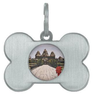 Ankor Wat Pet Tag