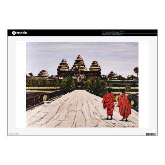 "Ankor Wat Skins For 17"" Laptops"