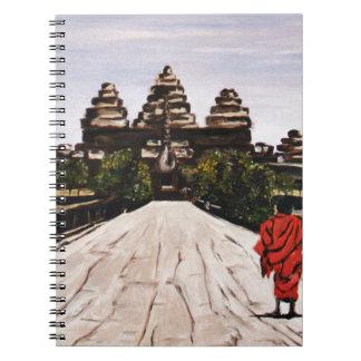Ankor Wat Spiral Notebook