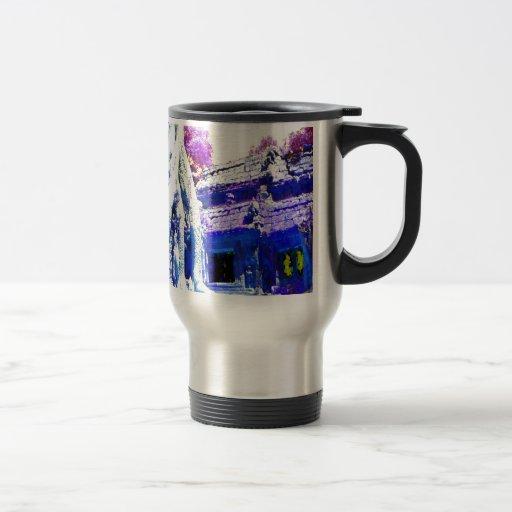 Ankorwat del árbol taza de café