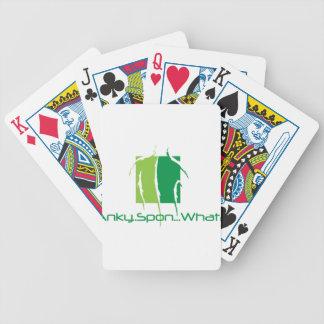 Anky. ¿Spon… qué? Baraja Cartas De Poker