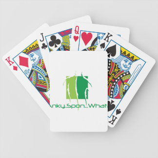 Anky..Spon...What? Bicycle Playing Cards