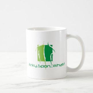 Anky..Spon...What? Classic White Coffee Mug