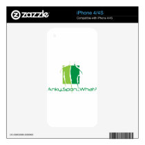 Anky..Spon...What? Decal For The iPhone 4S