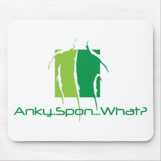 Anky..Spon...What? Mouse Pad