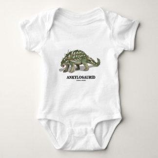 Ankylosaurid (Dinosaurs Are Fun) Baby Bodysuit