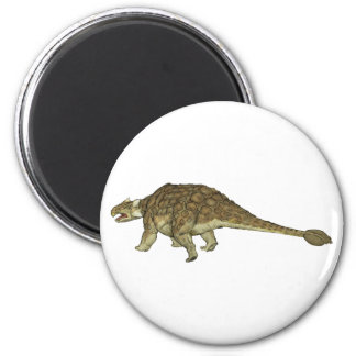 Ankylosaurus 2 Inch Round Magnet