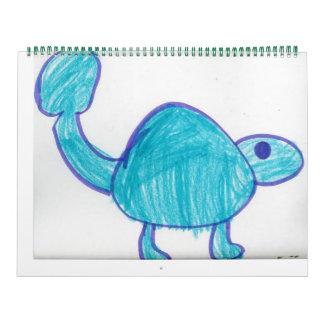 Ankylosaurus Calnader Calendar
