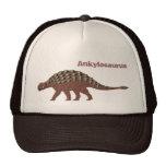 Ankylosaurus Cap Trucker Hats