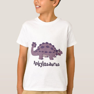 Ankylosaurus del dibujo animado playera