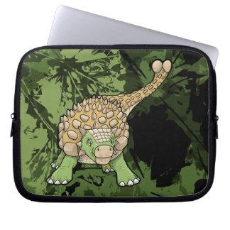 Ankylosaurus Dinosaur Electronics Sleeves Laptop Sleeves