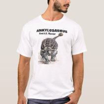 Ankylosaurus-First A.S. Warrior! T-Shirt