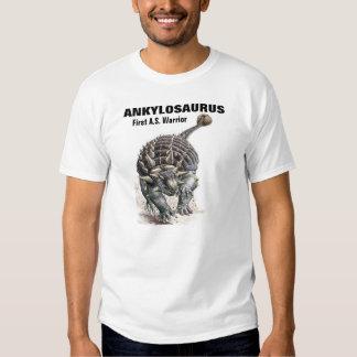 Ankylosaurus-First A.S. Warrior! Tee Shirt