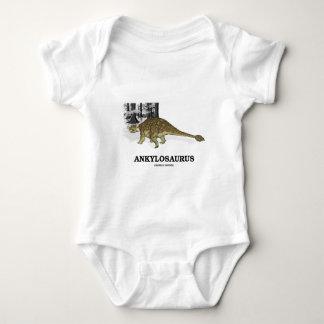 Ankylosaurus (Fused Lizard Dinosaur) Baby Bodysuit